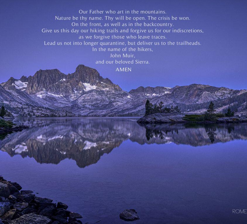 A Hiker's Prayer