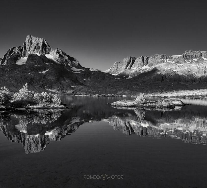 Banner Peak Infrared Photography